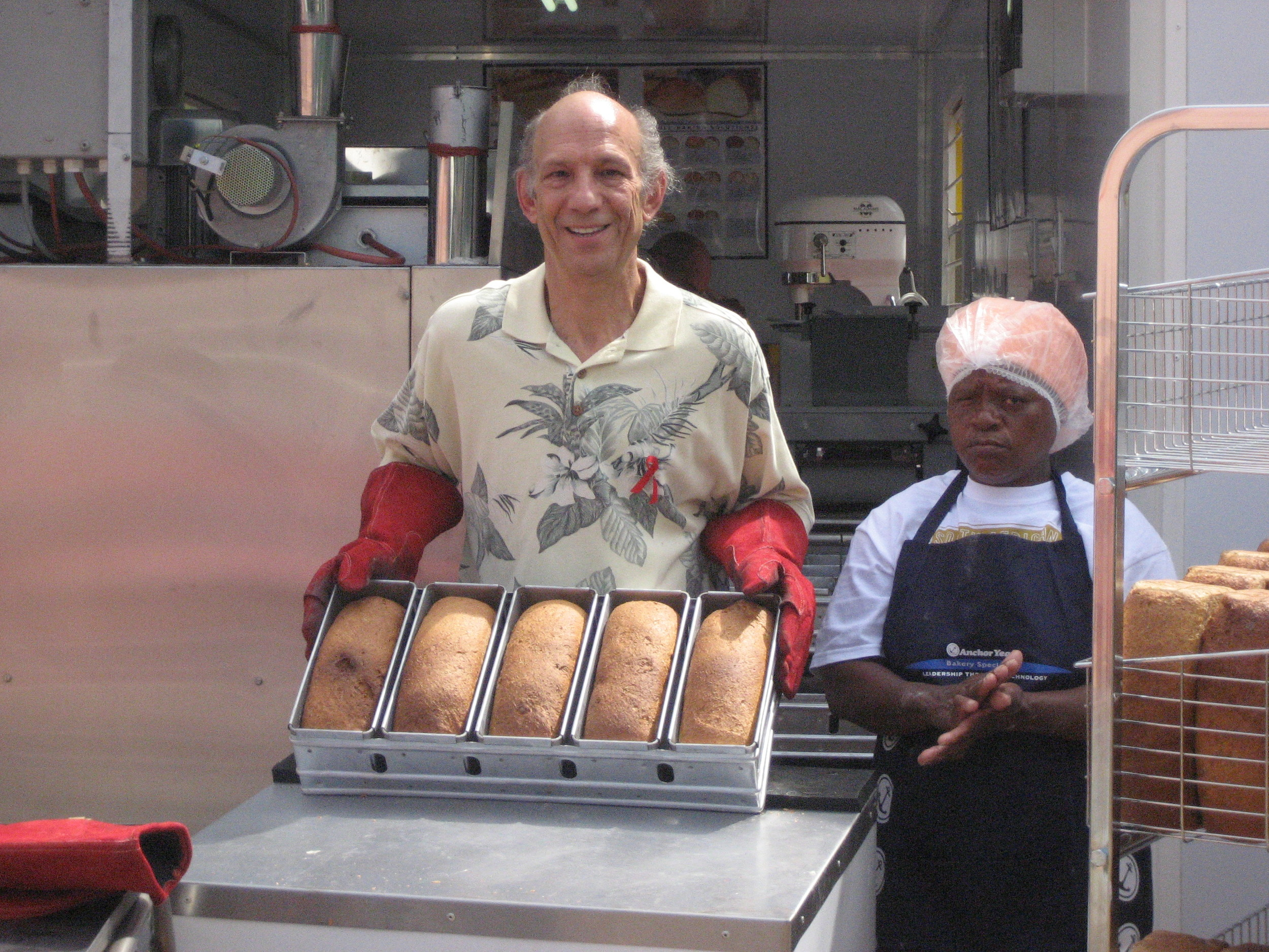 ICB Bakery opening at Nkosi's 2009.JPG