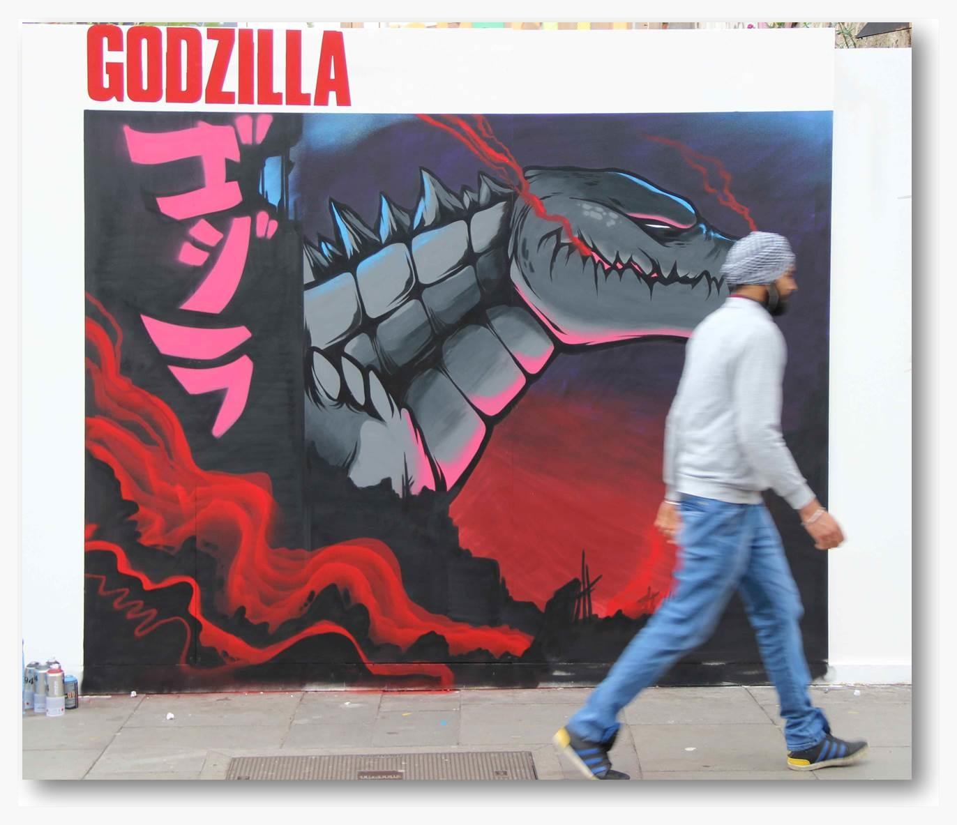Godzilla Graffiti Special
