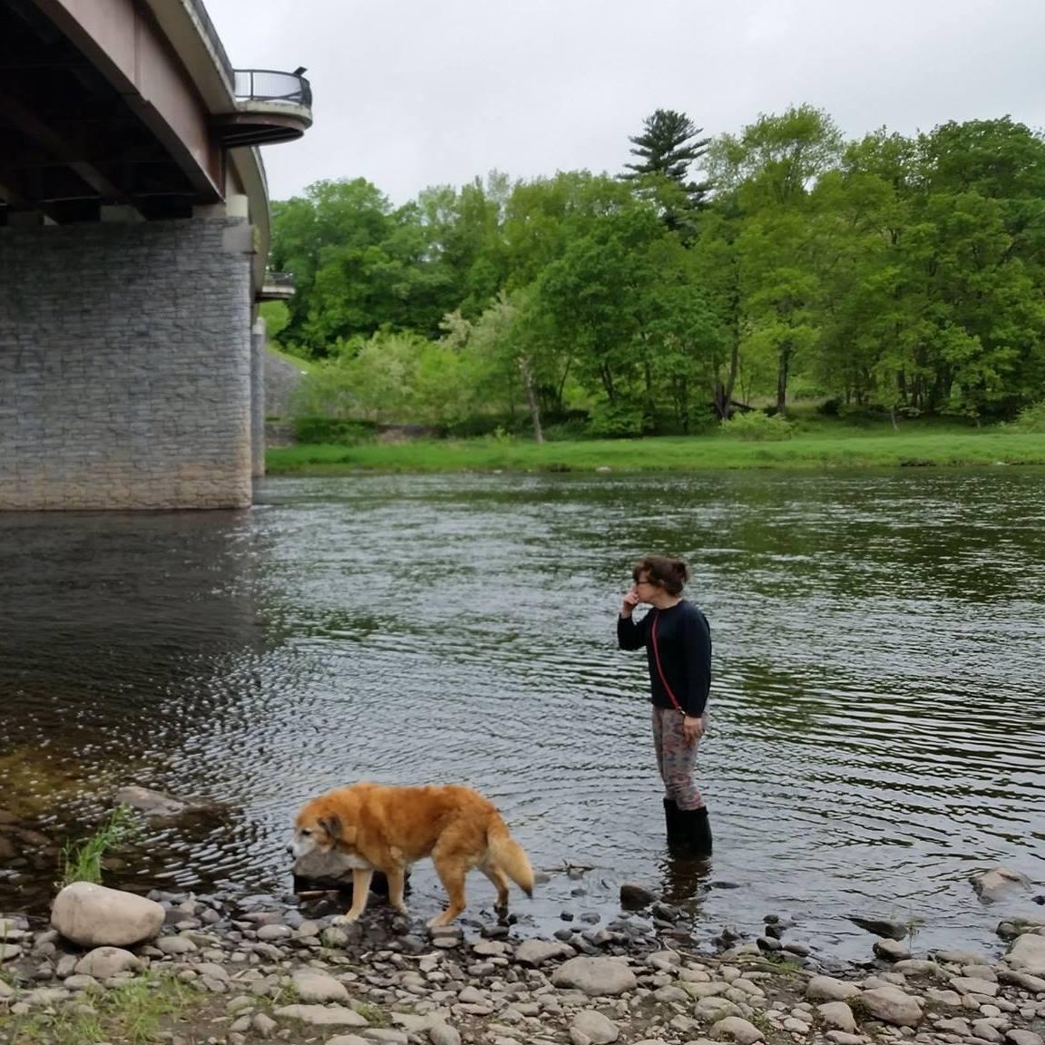 me bernie river.jpg