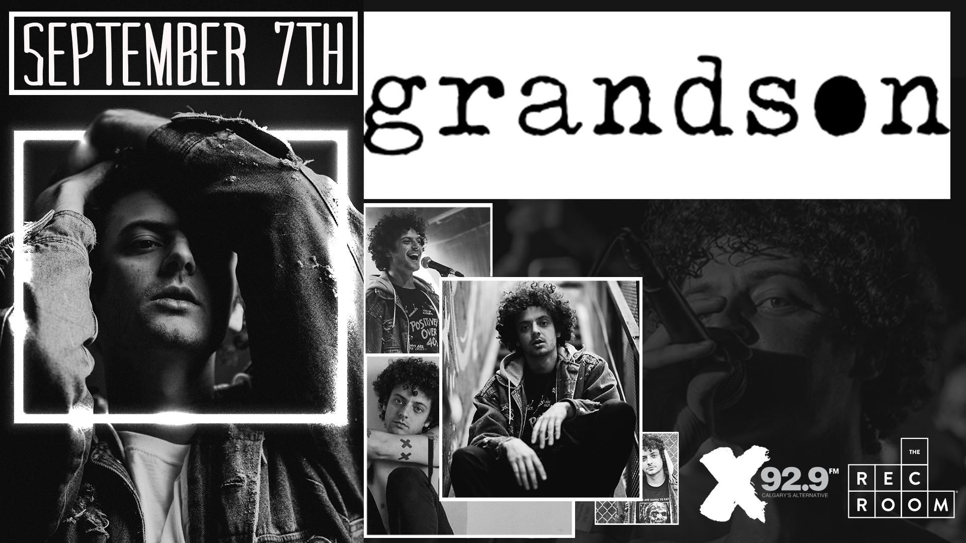 Friday, September 7th @ The Rec Room Calgary w/ grandson + Open Air -