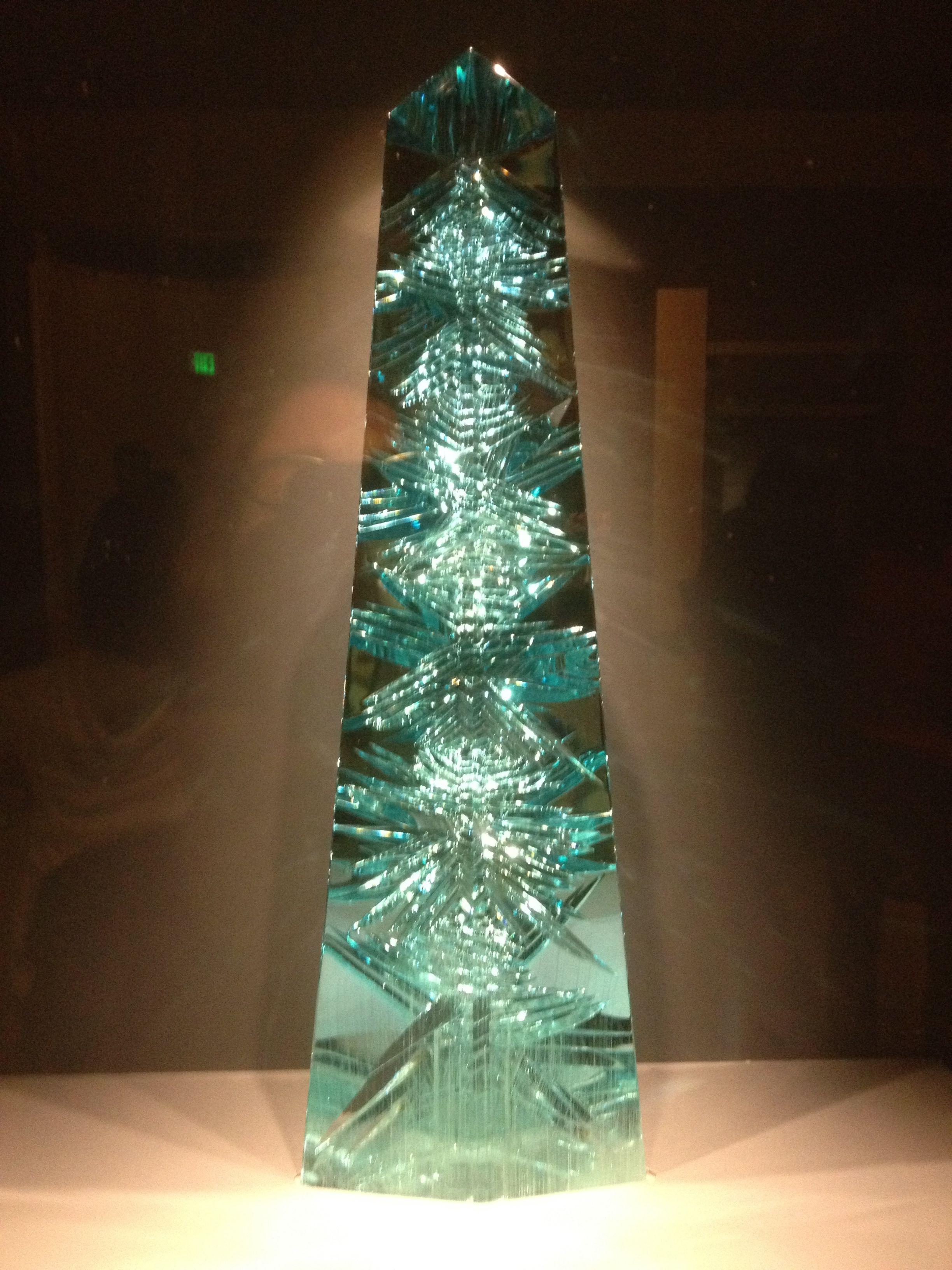 Dom Pedro Aquamarine at the Smithsonian. 10,363 carats.