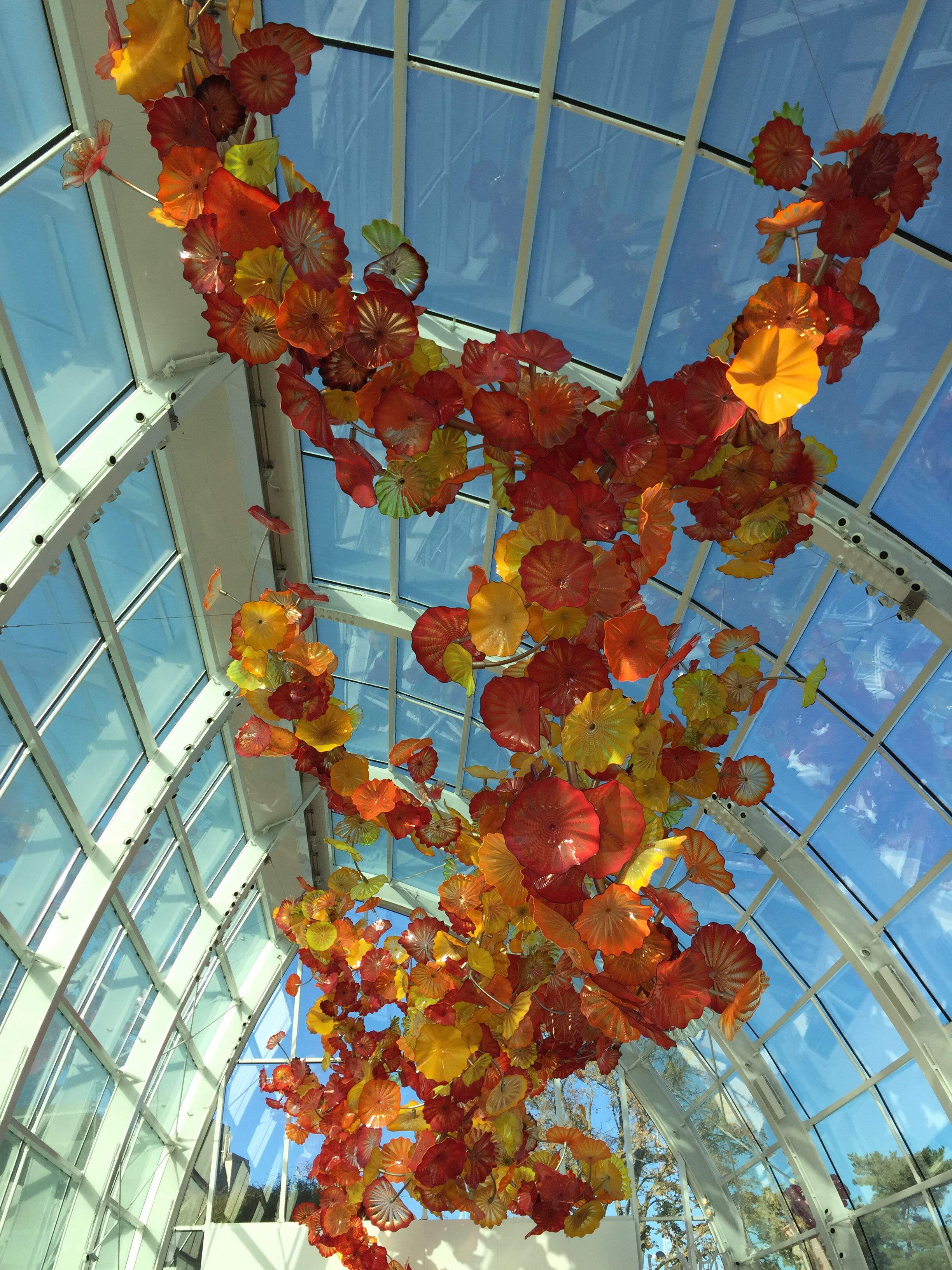 The Conservatory at the Chihuly Glass Gardens