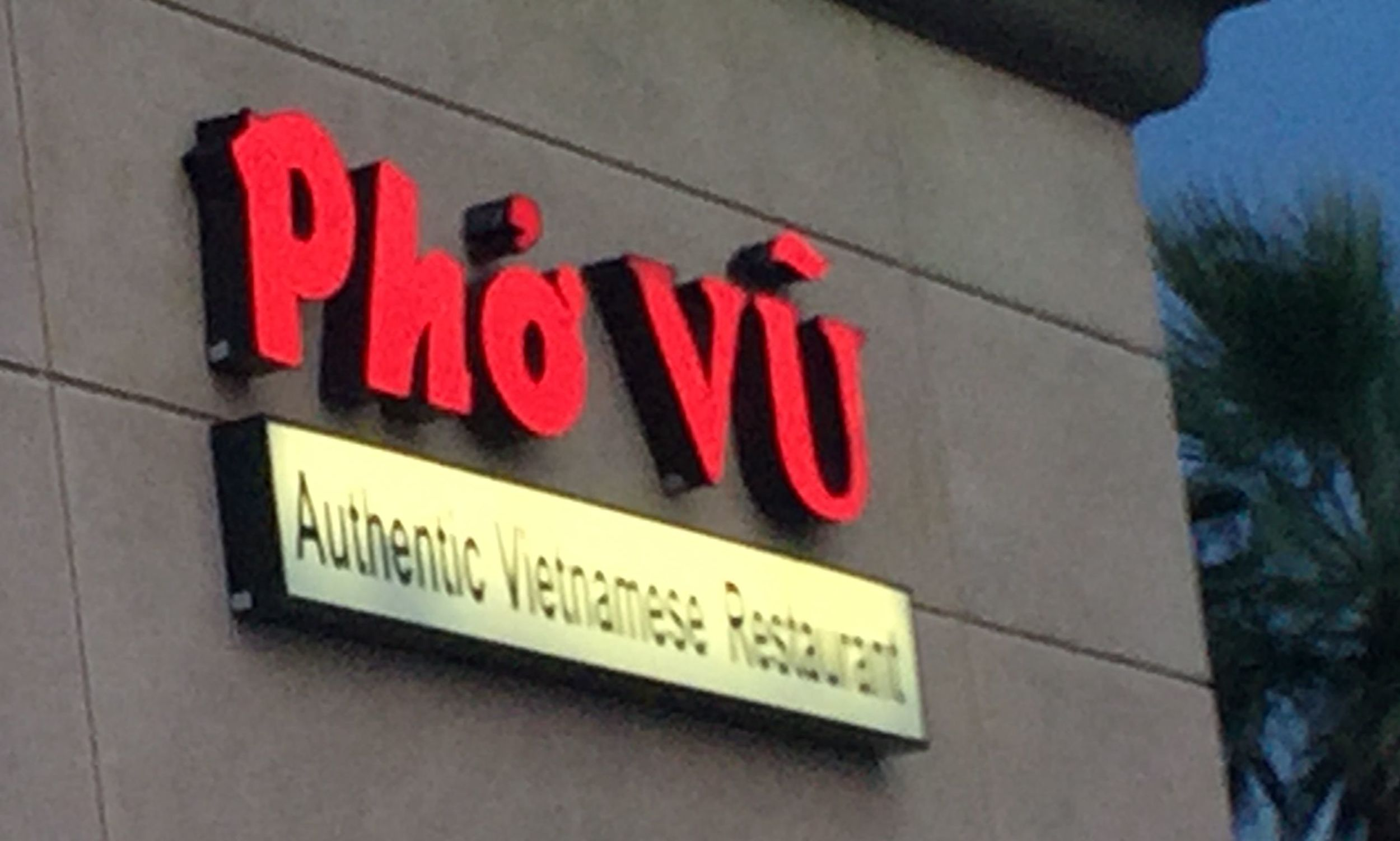The Best Vietnamese Pho in the Desert...who knew?