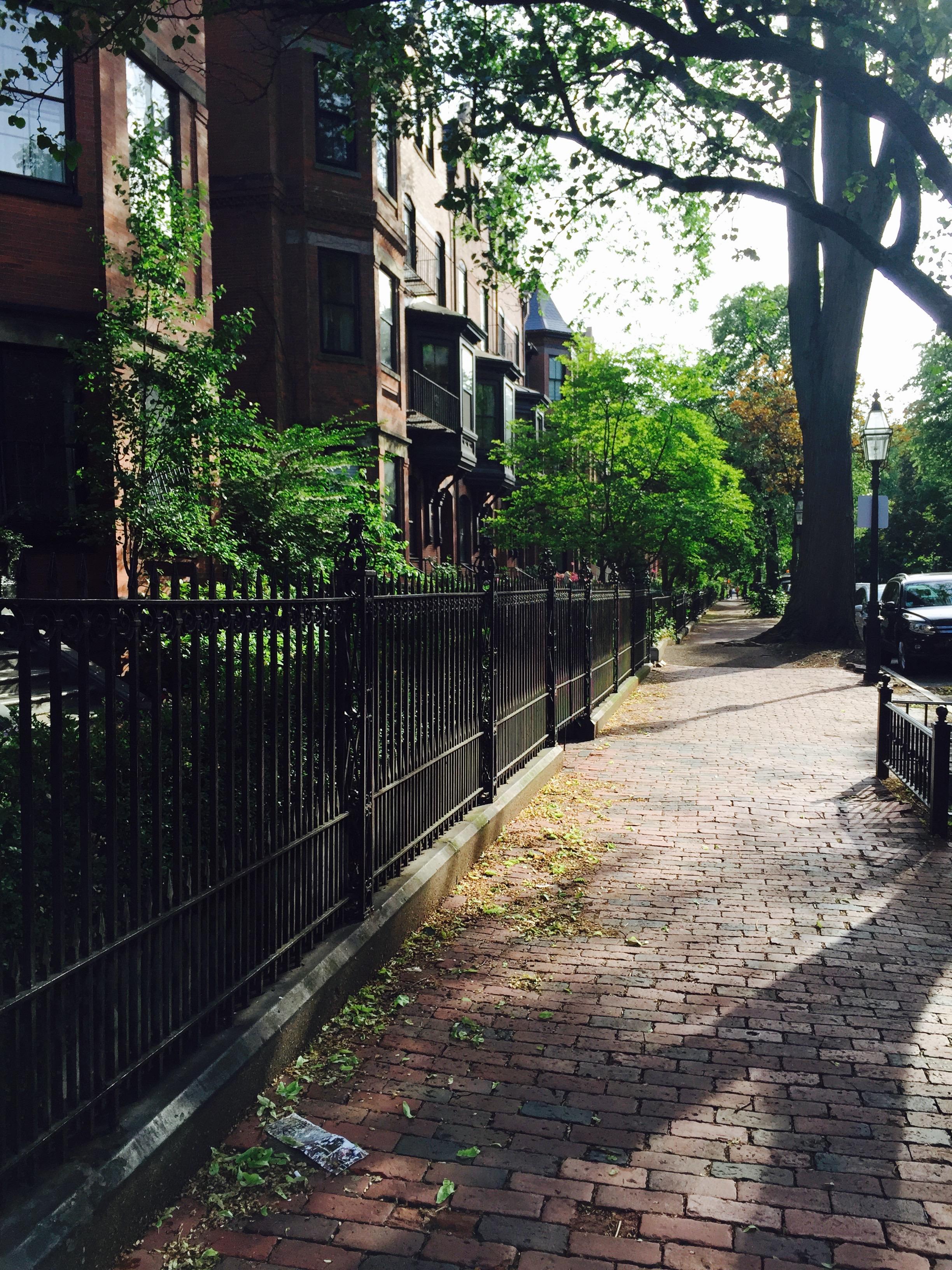 Marlboro Street in the Back Bay of Boston