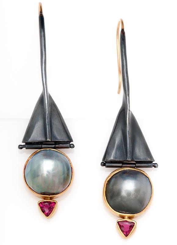 Tri Form Earrings