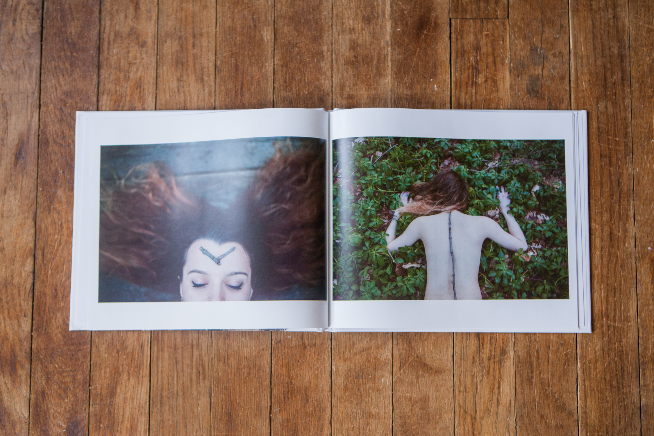 That time I made a photo book.