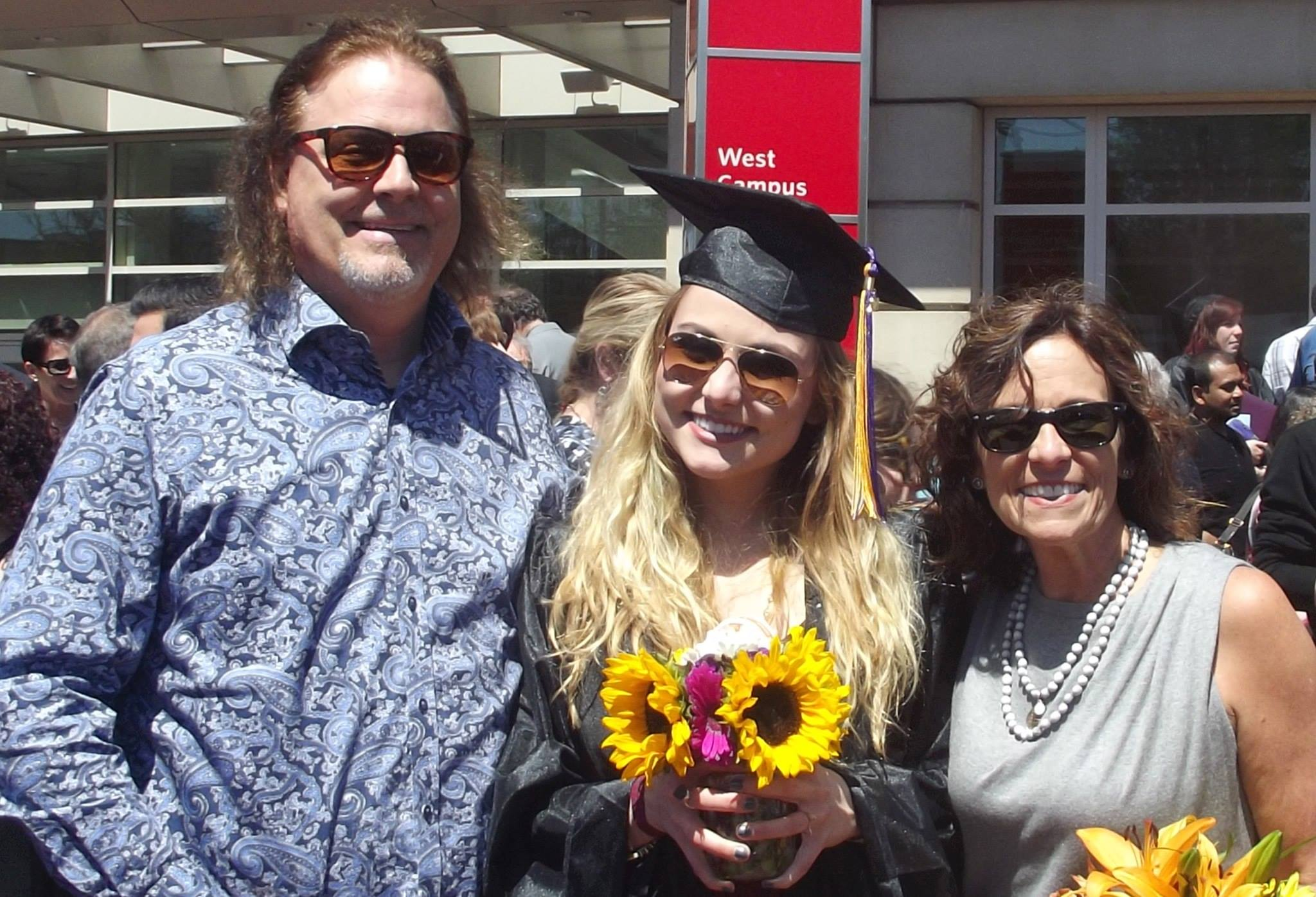 Oh, yeah... I graduated from Emerson College! And also spent Mother's Day with the greatest mother I could ask for.