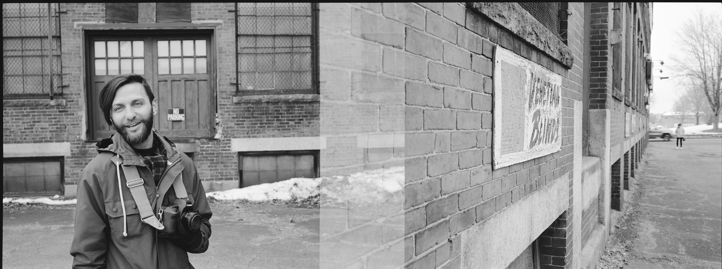 This silly day in Lowell & playing with my college's Mamiya 7 <3