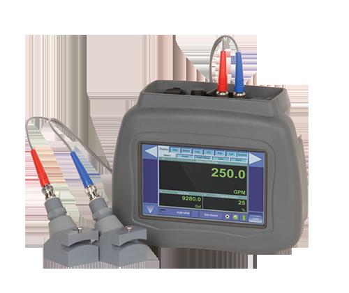 Dynasonics DXN portable flow meter