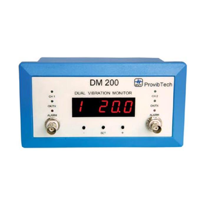 Dual Channel Vibration Monitor - DM 200