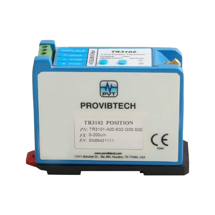 TR3102 Proximity 3-Wire Transmitter for Axial Position/ Phase Reference