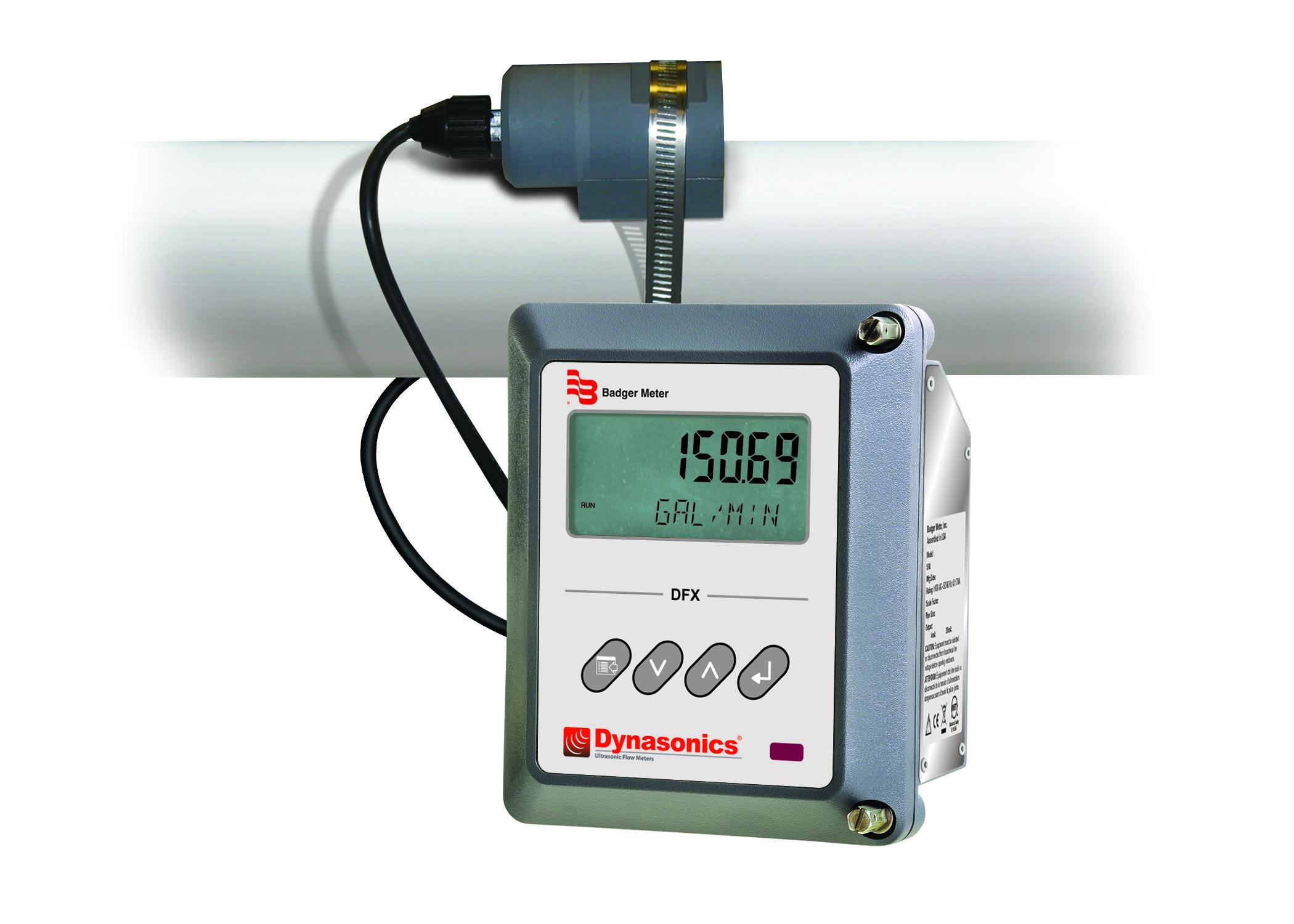Ultrasonic Flow Meter (Doppler) - DFX / DT9
