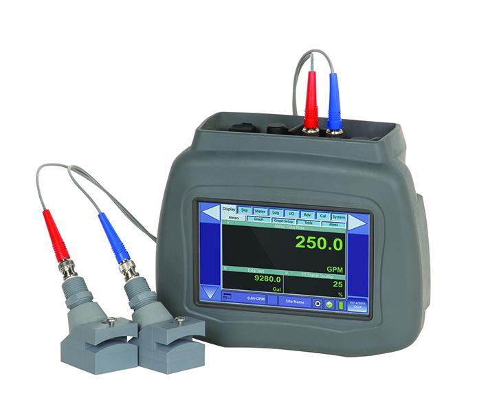 Portable Ultrasonic Transit Time Flow Meter - DXN