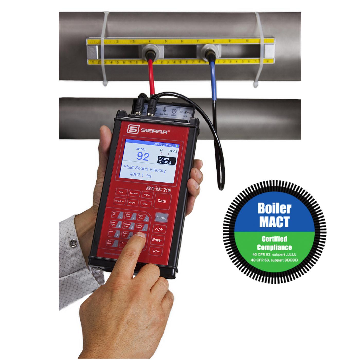 InnovaSonic 210i Portable Clamp-On Ultrasonic Liquid Flow Meter
