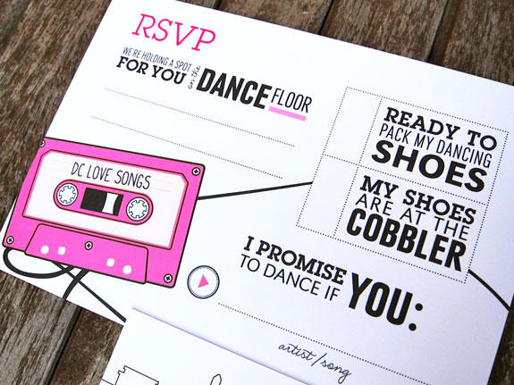 RSVP and Song Requests
