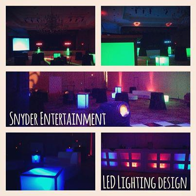 Sample of Dance Lighting provided by Snyder Entertainment