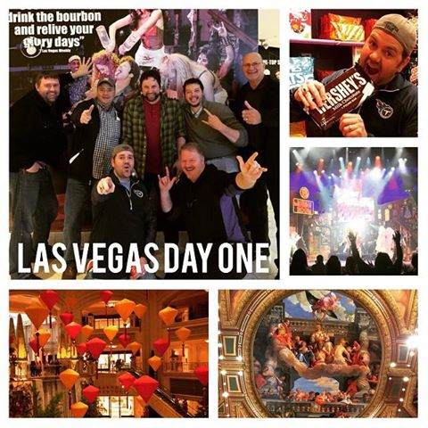 Day 1: Well,  Nashville arrived in  Las Vegas for Mobile Beats and It was a free day! A little exploring andsome    Rock of Ages got our week off to a  good start!