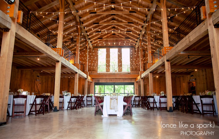 The space can hold up to 200 guests comfortably! There is an enclosed patio, upstairs wrap around loft, and full catering prep kitchen included with the space. You MUST check out the bathrooms when you visit. Tell Alison that Snyder Entertainment sent you!