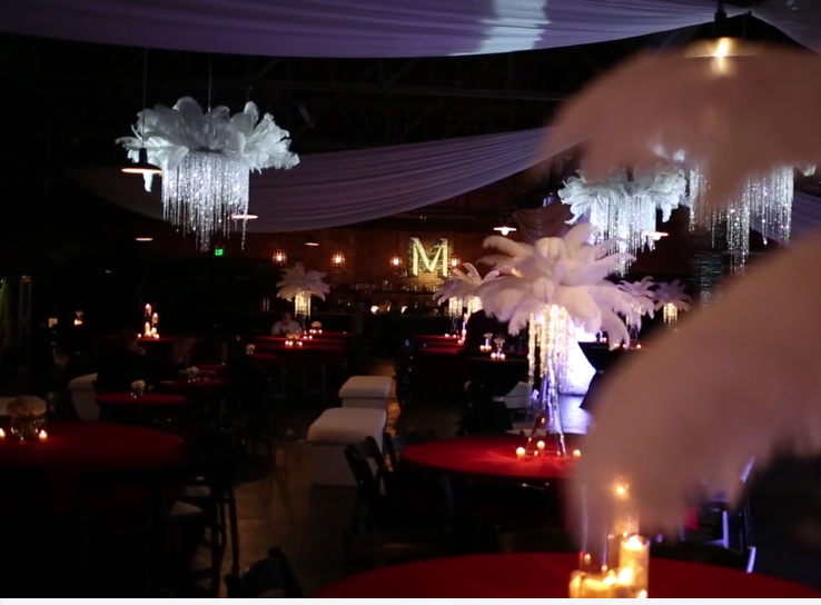 Stunning decor makes any event stand out from the rest