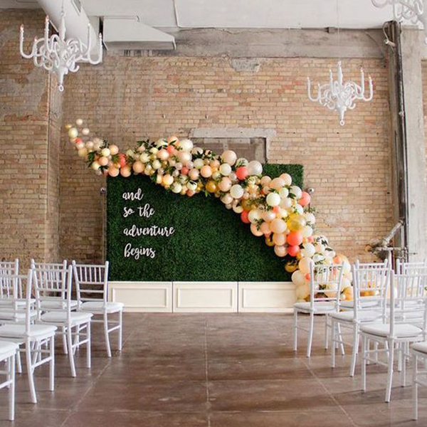 oversized backdrops -