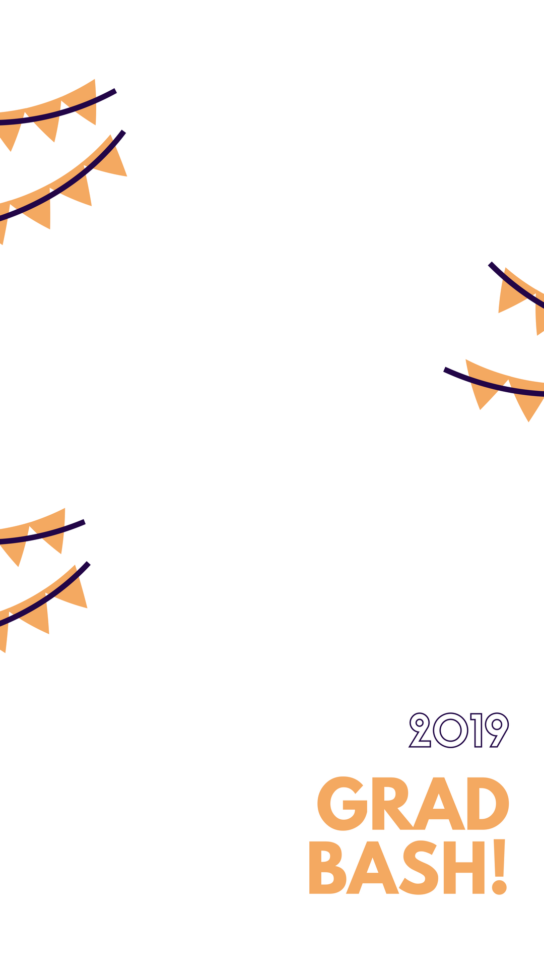 Red Bunting Graduation Party Snapchat Geofilter.png