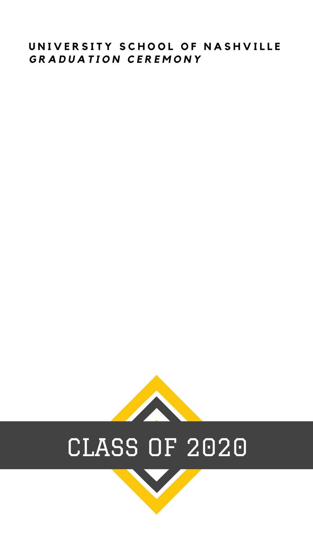Grey and Yellow University Graduation Snapchat Geofilter.png