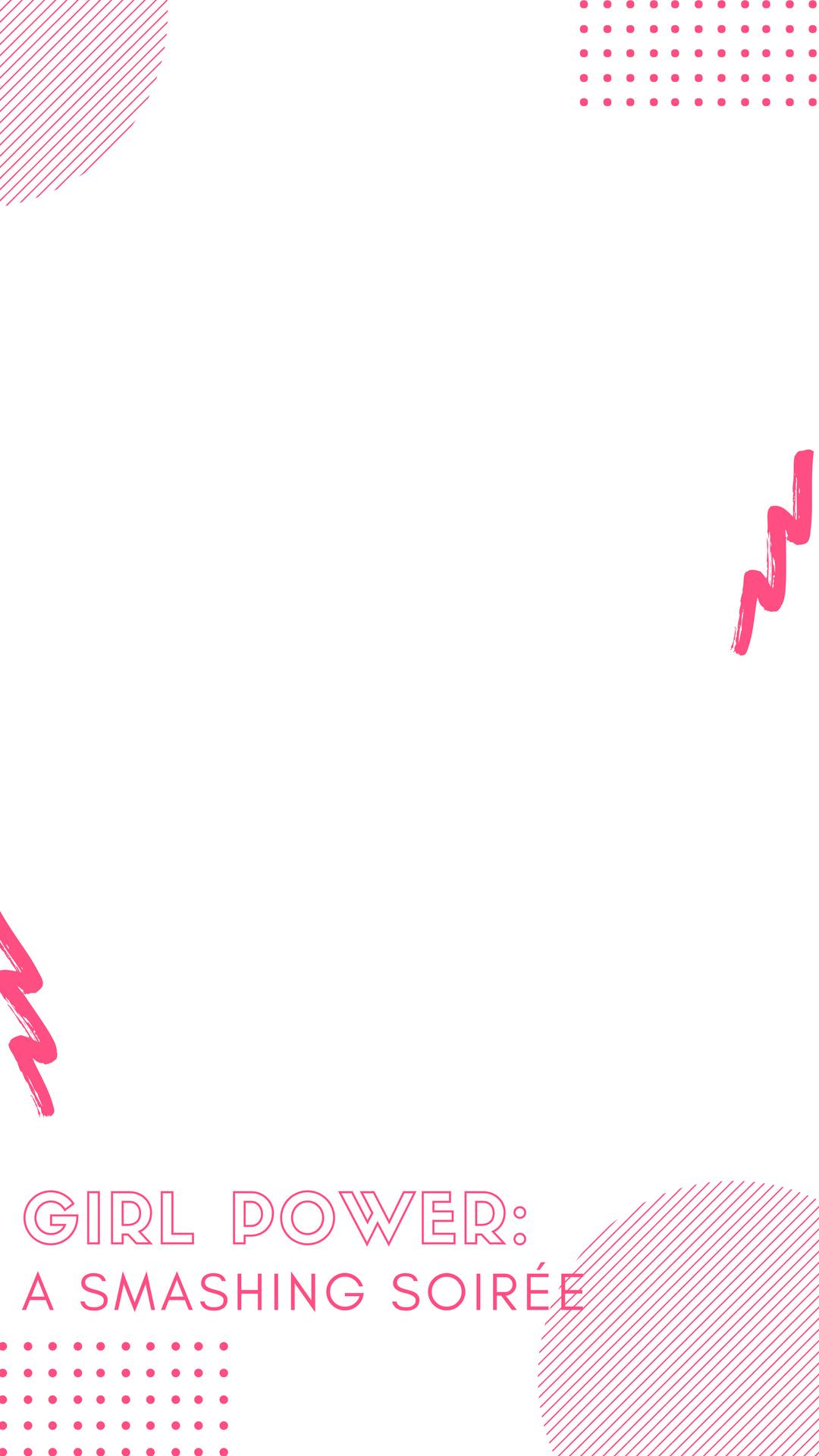 Hot Pink Illustrated Rave Snapchat Filter.png