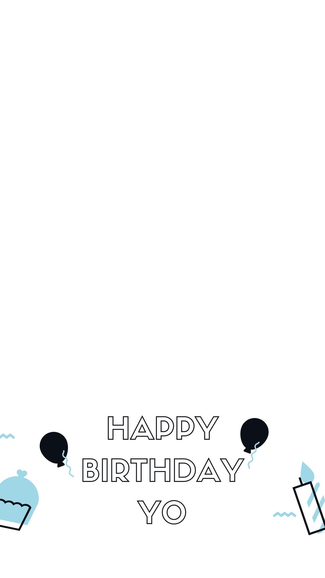 Blue and Black Illustration Birthday Snapchat Filter.png