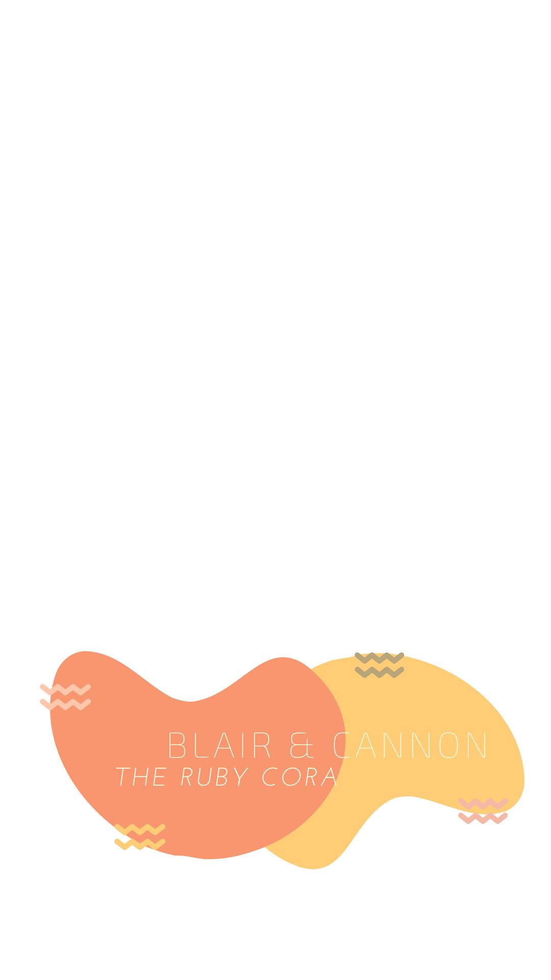 Blue Pink Art Creative Snapchat Filter.png