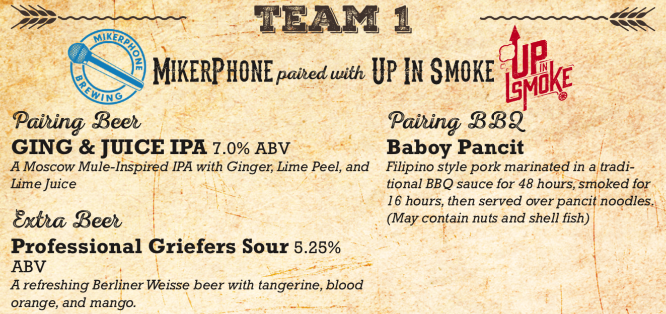 mikerphone brewing up in smoke beer and bbq challenge.png