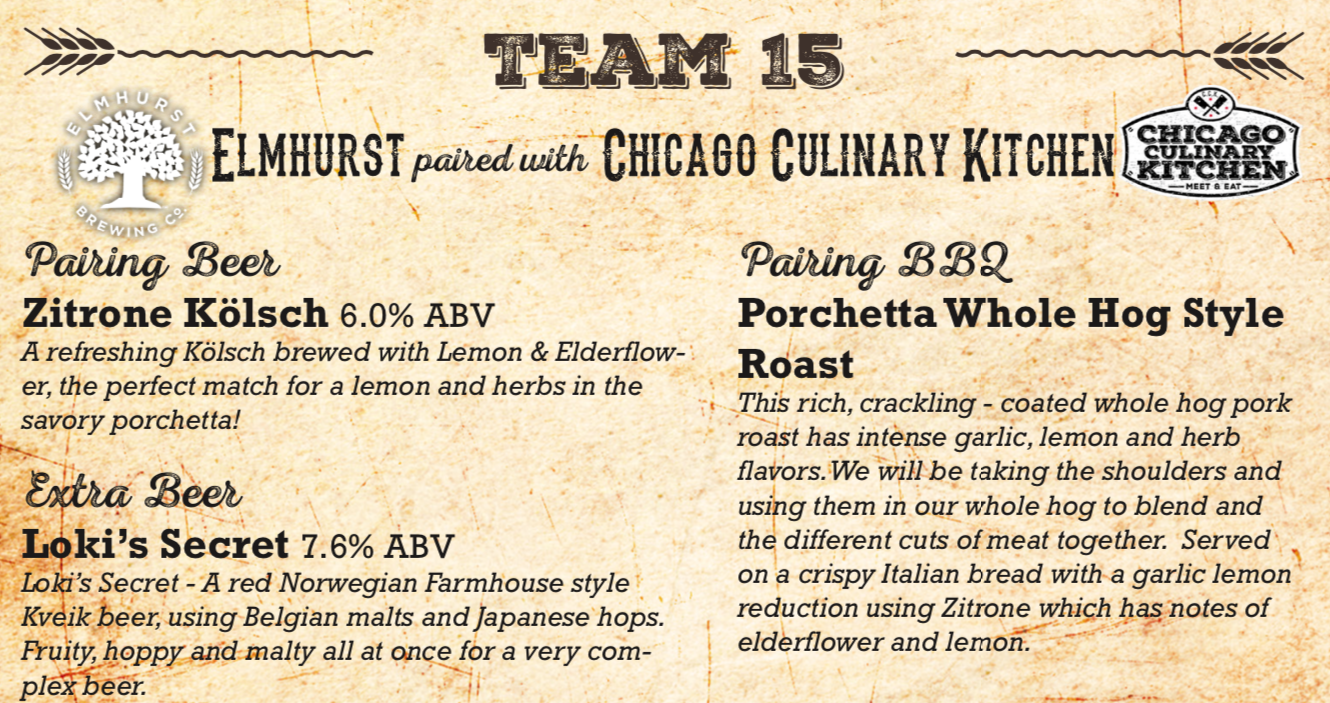 Elmhurst Brewing and Chicago Culinary Kitchen beer and bbq challenge.png