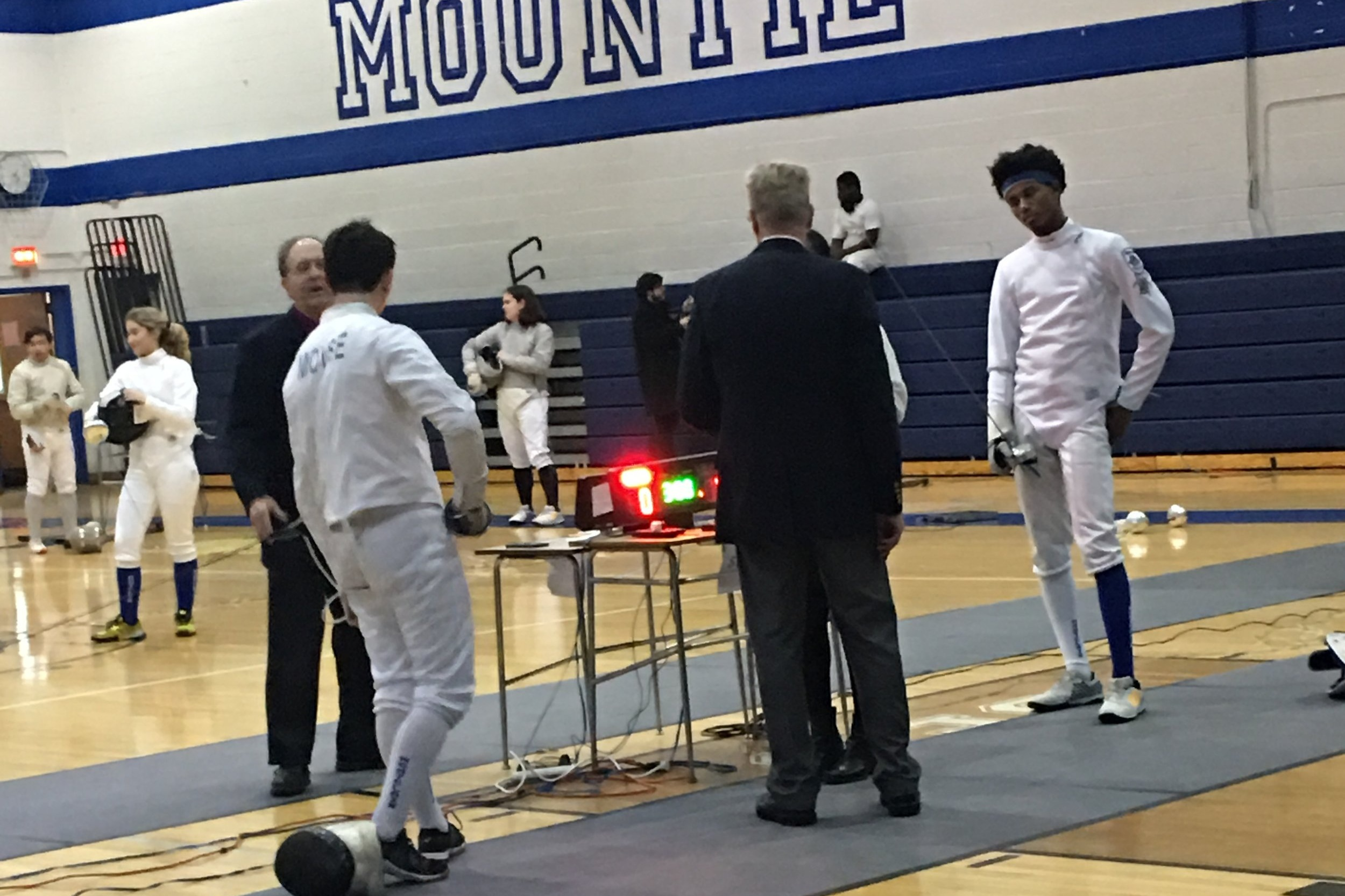 Épée Boys — District 5 @ MHS 27 Jan 2019