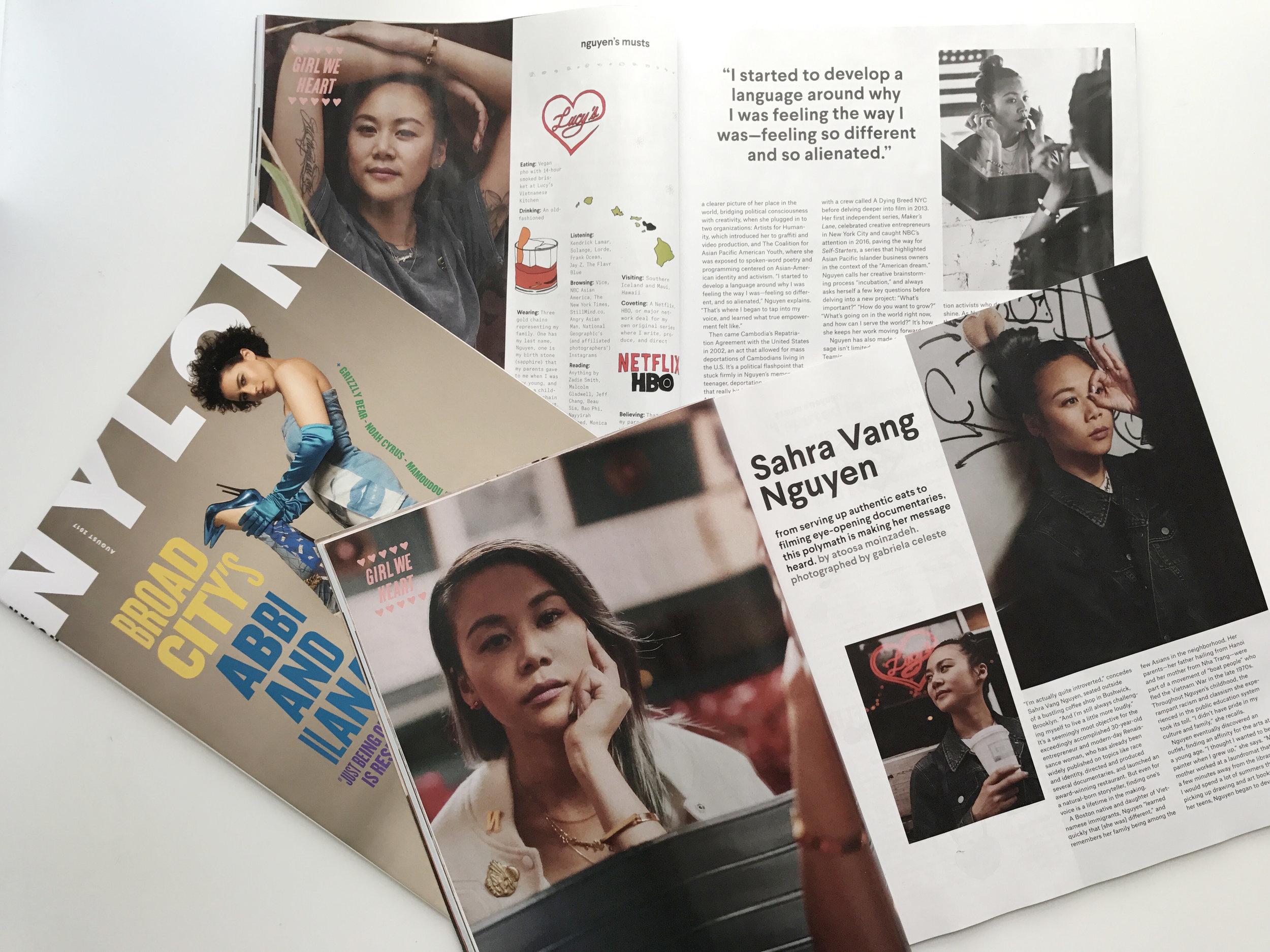 sahra nguyen nylon magazine renaissance woman