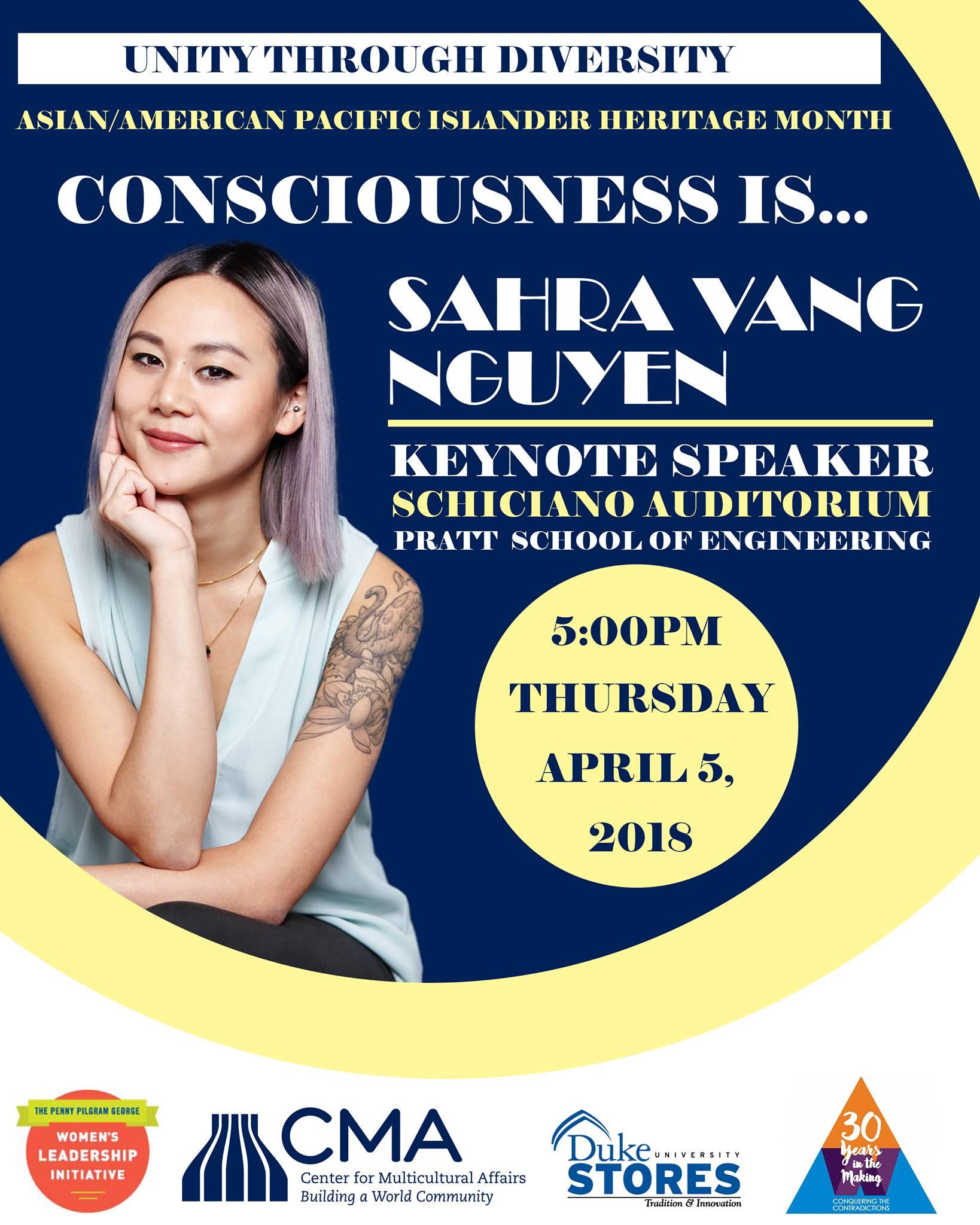 Asian American Women Keynote Speaker - Nguyen