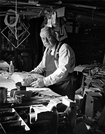 """""""My grandfather, Harry Scott was a third-generation master gilder and framer who served the high society and cultural arts scene of San Francisco from the 1890s to 1950. I am carrying on his tradition."""" - Dennis Schmidling"""