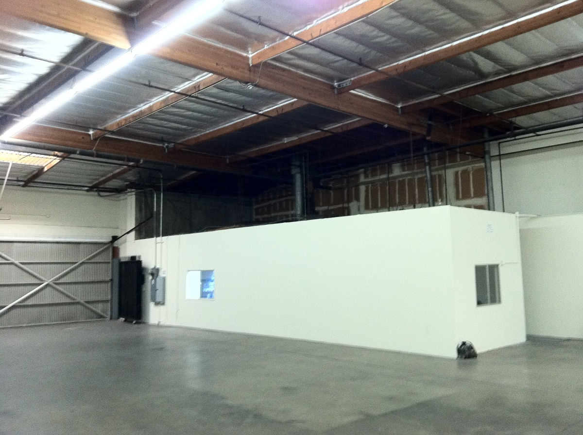 New Office in Warehouse