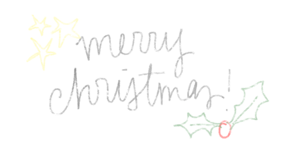 merry christmas by everglow handmade