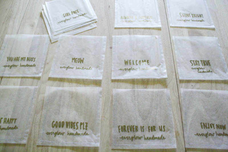 banner bags by everglow handmade 2