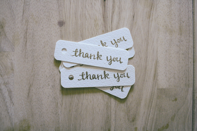 thank you tags by everglow handmade 2