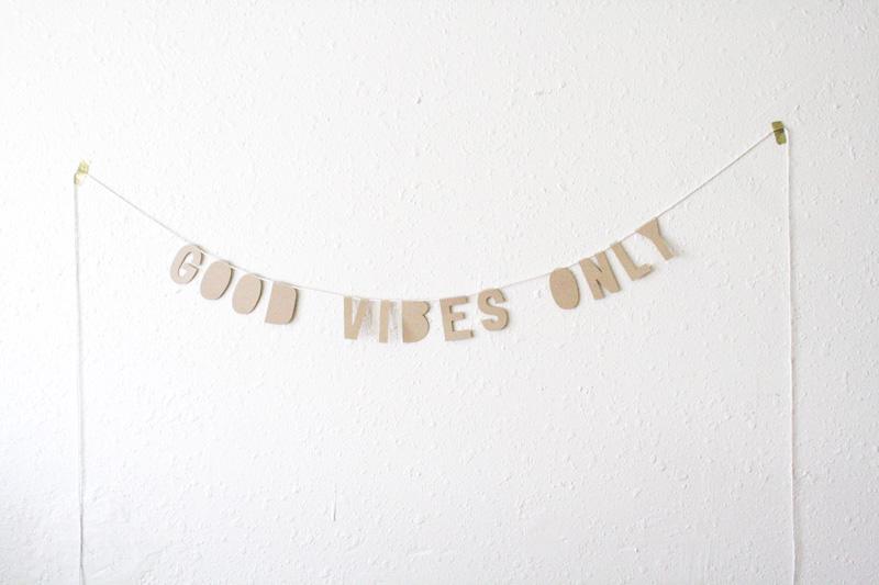 good vibes only by everglow handmade