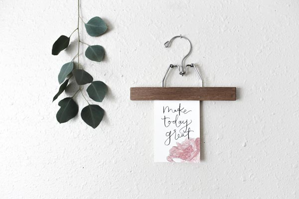 make today great calligraphy print