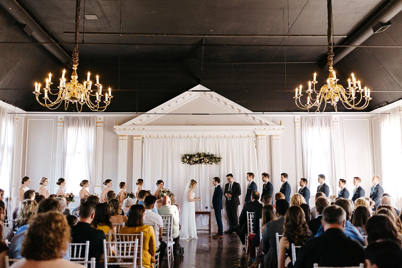 oregon country wedding calligraphy