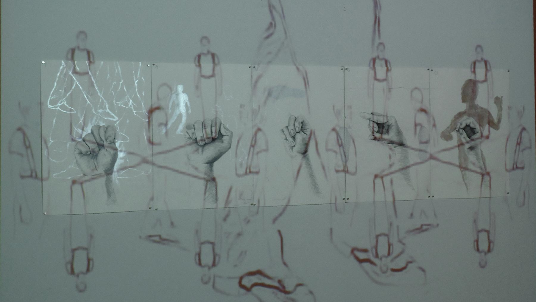 TANGO (2011)   Installation documentation at the N'Namdi Center for Contemporary Art, Detroit, MI.