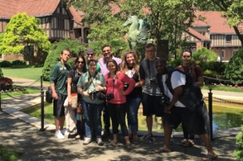 Field trip to Meadow Brook Hall, Summer 2016