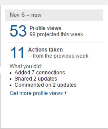 LinkedIn Activity