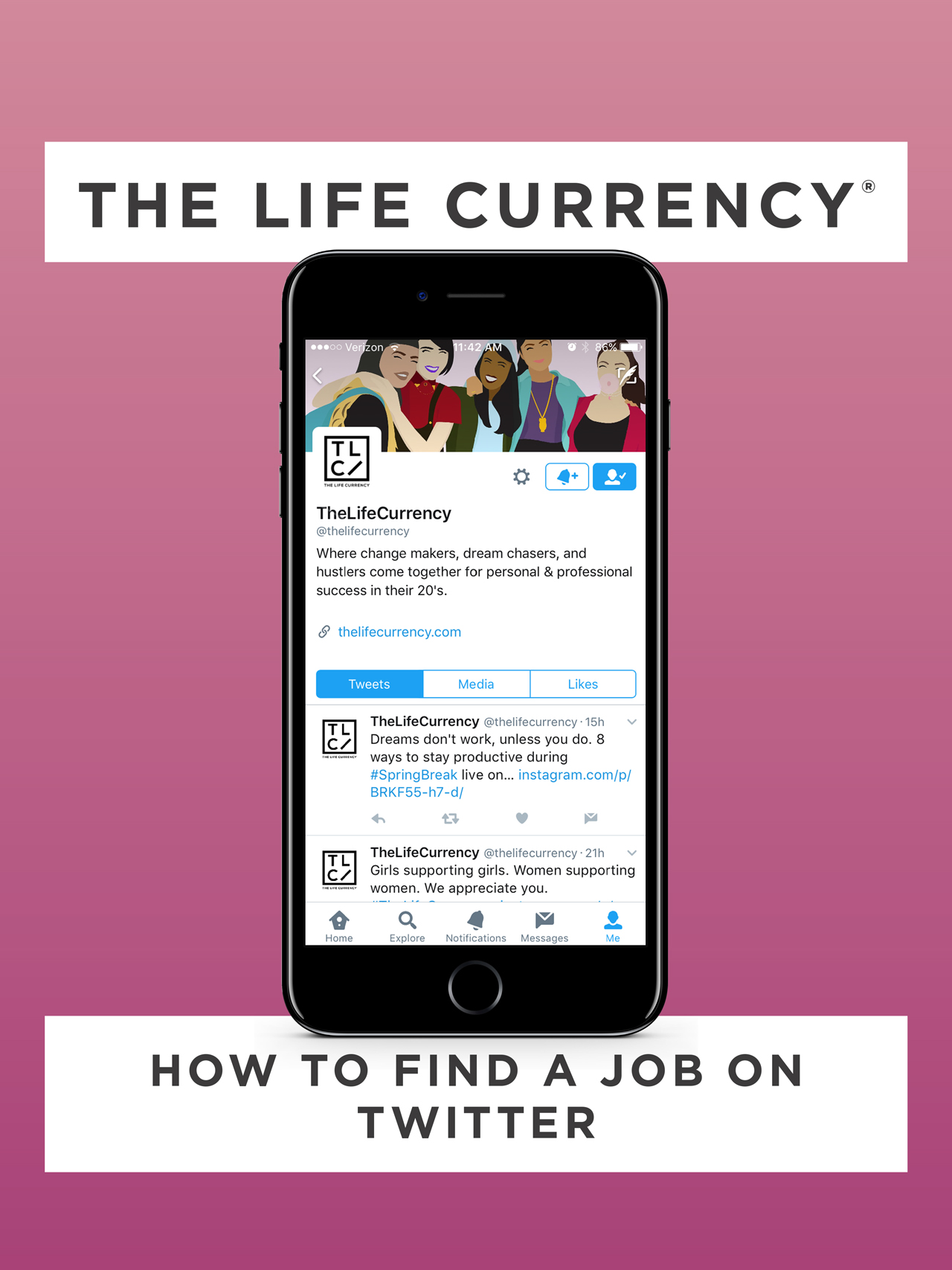 The Life Currency - How to Find a Job on Twitter
