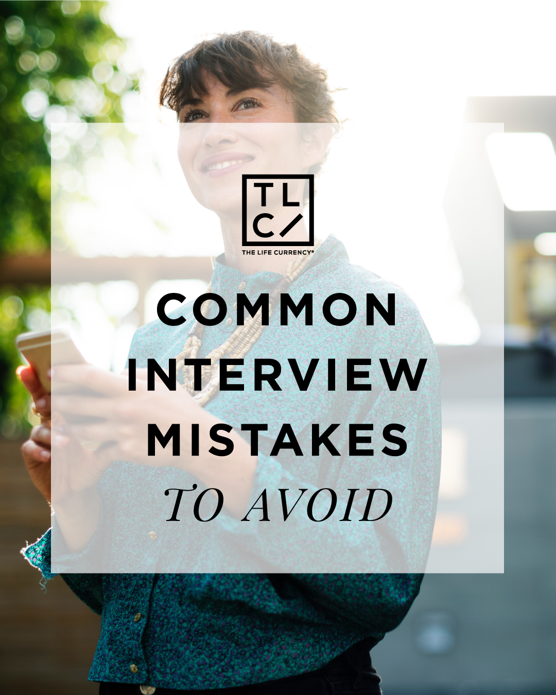 Common Interview Mistakes to Avoid