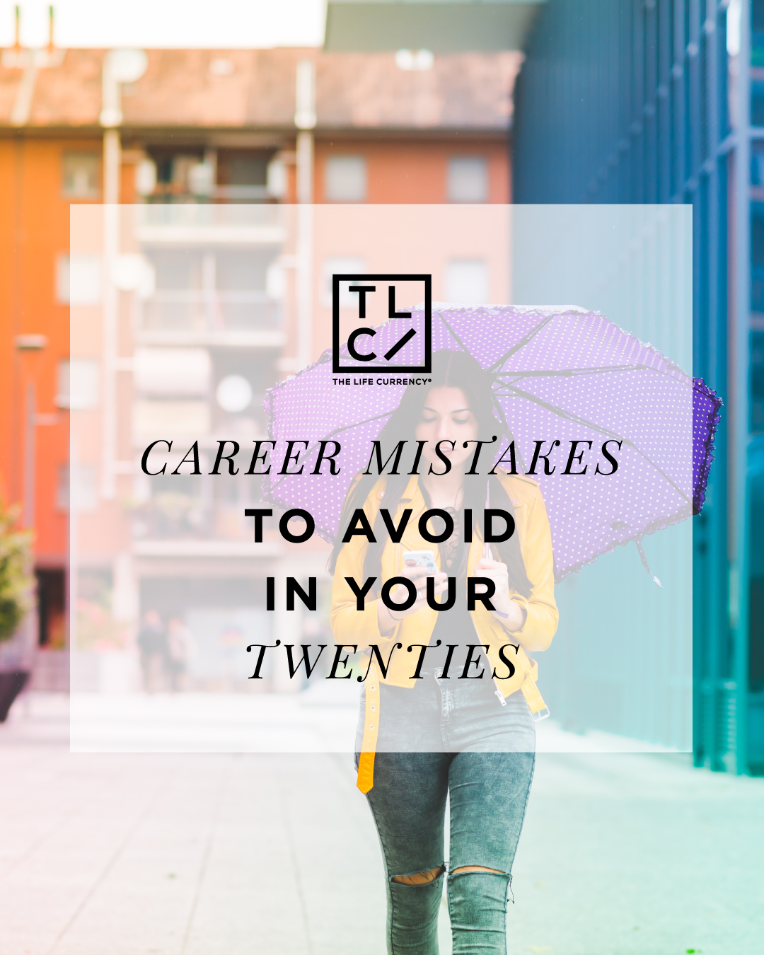 Career mistakes to avoid in your 20's