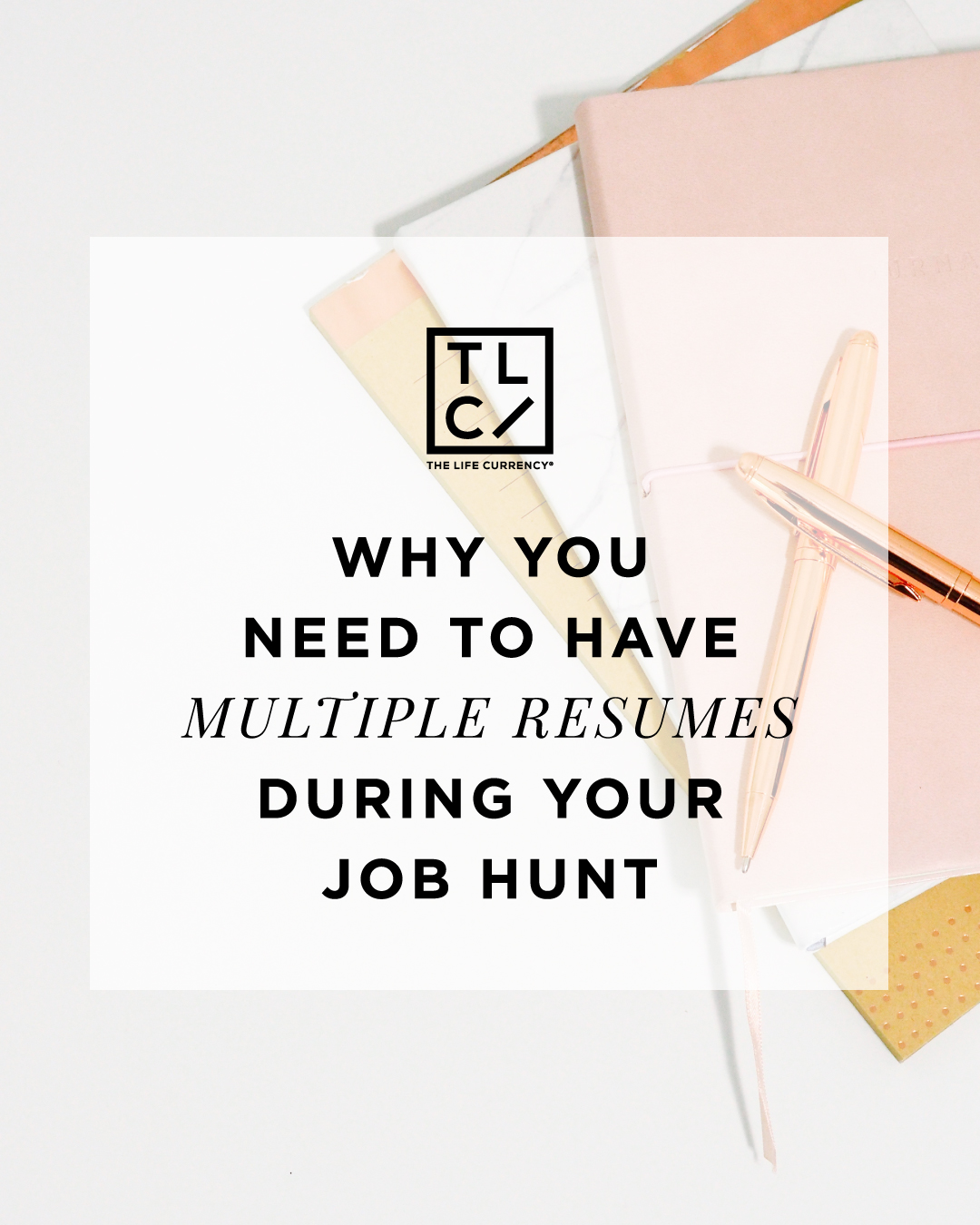 Why it's a Clever Idea to Have Multiple Resumes
