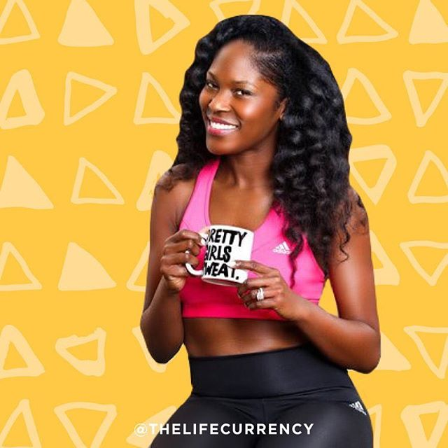 We spoke with @prettygirlssweat founder @aeshiadevorebranch about her organization, what inspired her and her tips to young women on staying active and maintaining a healthy lifestyle. Read her interview via our link in bio! 💕🙏🏽 #MondayMotivation #LifeCurrency101 #Positivity